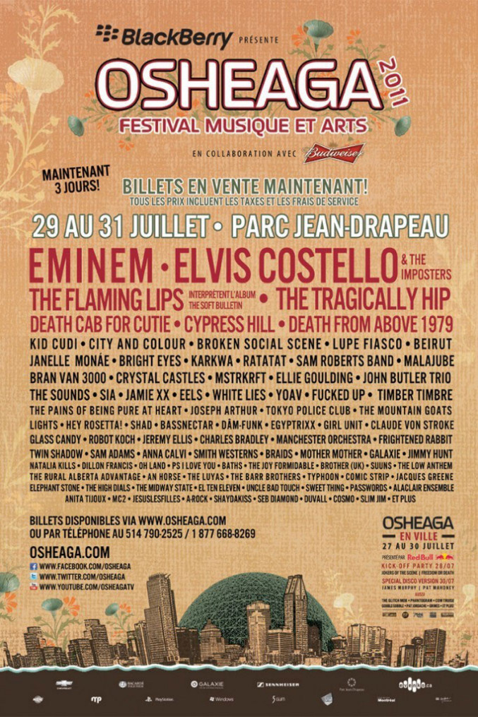 Terms Of Agreement >> Relive 2011 | Osheaga